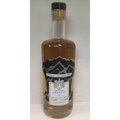 The Creative Whisky Company Single Cask Exclusives Peated Highland 8yo AM003 (50%)