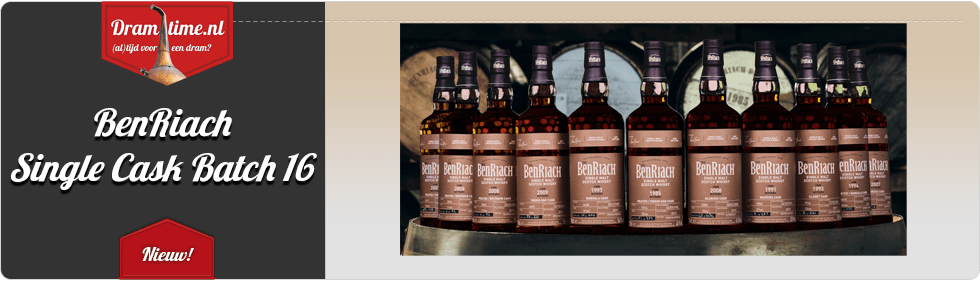 BenRiach Single Cask Bathch 16