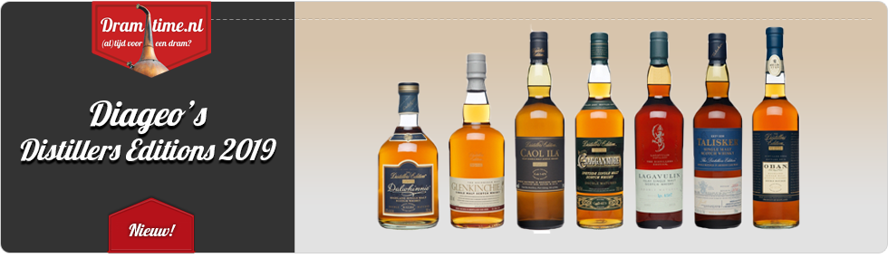 Diageo Distillers Editions 2019