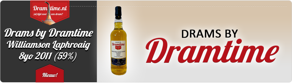 Drams by Dramtime Williamson Laphroaig 8yo 2011