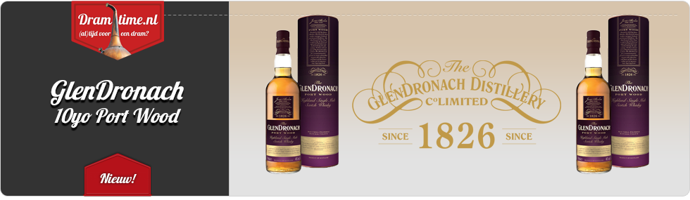 GlenDronach 10yo Port Wood