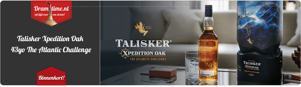 Talisker Xpedition Oak 43yo The Atlantic Challenge