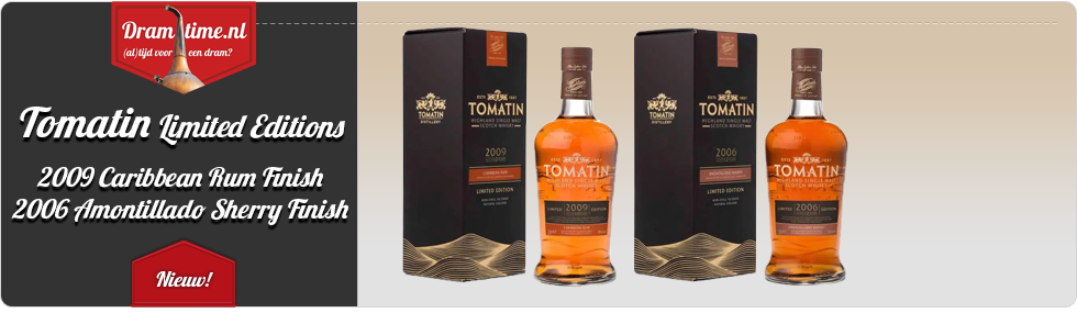 Tomatin Limited Editions