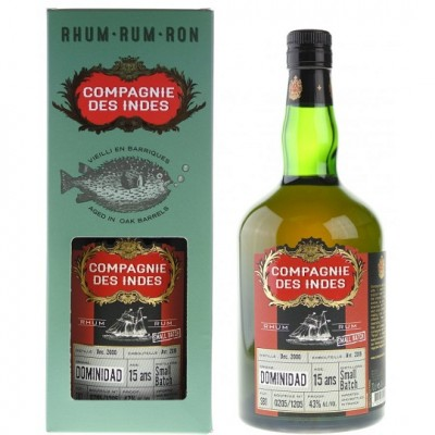 Compagnie des Indes Dominidad 15yo Small Batch No. 2