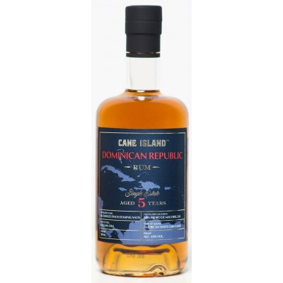Cane Island Single Estate Rum Dominican Republic 5yo
