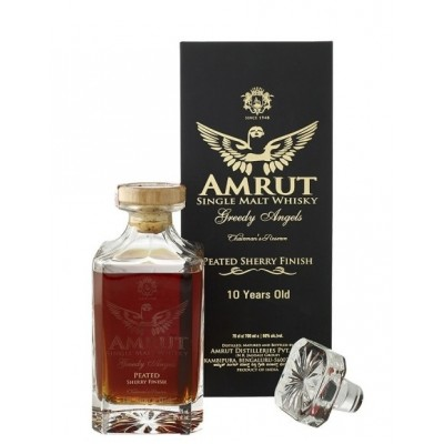 Amrut Greedy Angel's 10yo Peated Sherry Finish (60%)