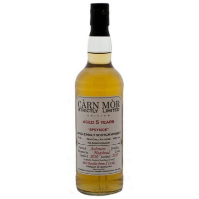 Carn Mor Strictly Limited 5yo Aultmore 2010