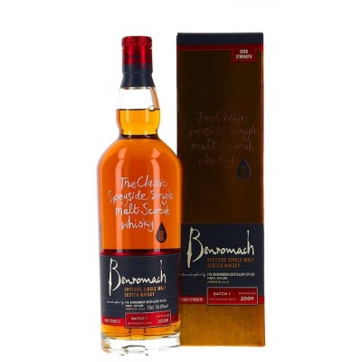 Benromach 2009 Cask Strength Batch 1 (58,8%)