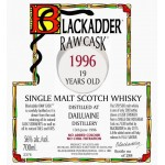 Blackadder Raw Cask Dailuaine 19yo 1996 (56%)