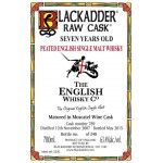 Blackadder Raw Cask The English Whisky Company 7yo 2007 Moscatel Cask 789 (63,4%)