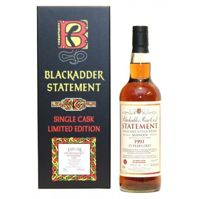 Blackadder Raw Cask Statement Bladnoch 25yo 1991 (54,3%)