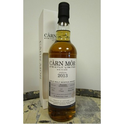 Carn Mor Strictly Limited Bunnahabhain Staoisha 5yo 2013 (47,5%)