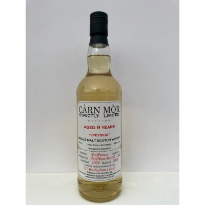 Carn Mor Strictly Limited Dufftown 9yo 2009
