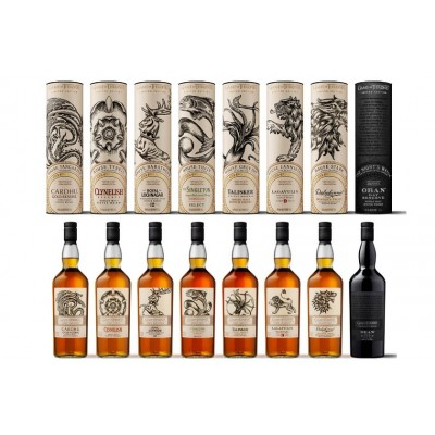 Game of Thrones Single Malt Set of 8