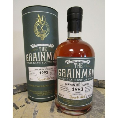 The Grainman Girvan 25yo 1993 Radoux Cask (55,5%)