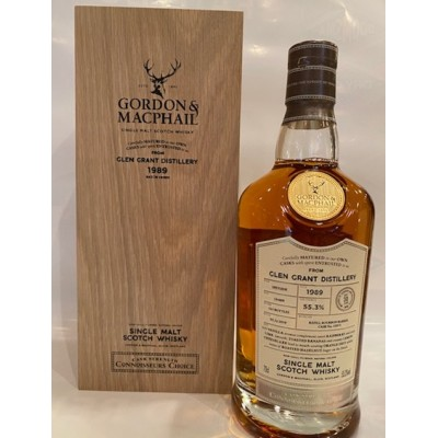 Connoisseurs Choice Cask Strength Glen Grant 30yo 1989 (55,3%)
