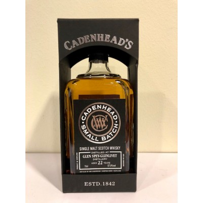 Cadenhead Small Batch Glen Spey Glenlivet 22yo 1995 (57,9%)