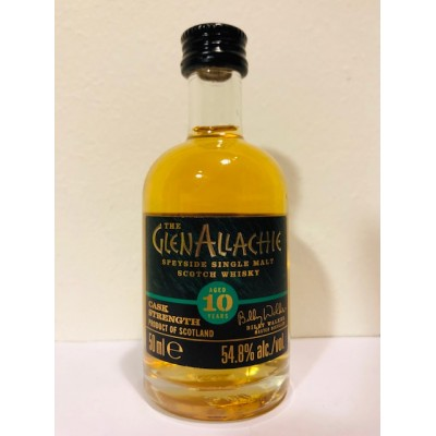 GlenAllachie 10yo Cask Strength Batch 3 (58,2%) (5cl)