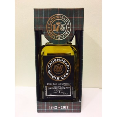 Cadenhead Single Cask Glenrothes - Glenlivet 15yo 2002 The Specialists Choice NL (58,2%)