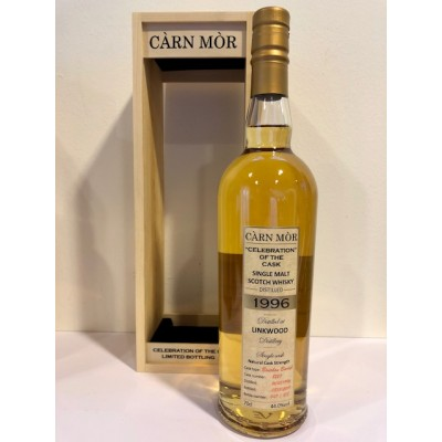 "Carn Mor ""Celebration of the Cask"" Linkwood 21yo 1996 (44%)"
