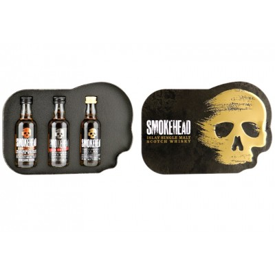 Smokehead Giftpack (3x5cl)